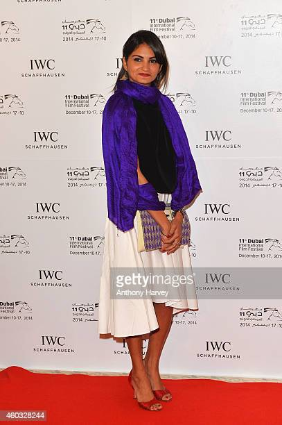 Nominee Ahd Kamel during the IWC Filmmaker Award Night 2014 at The One Only Royal Mirage on December 11 2014 in Dubai United Arab Emirates