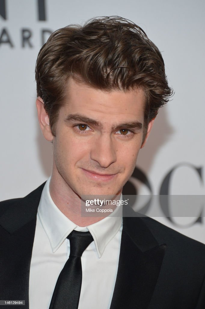 Nominee Andrew Garfield attends the 66th Annual Tony Awards at The Beacon Theatre on June 10, 2012 in New York City.