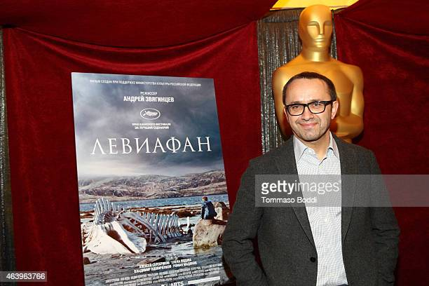 Nominee Andrey Zvyagintsev attends the 87th Annual Academy Awards Oscar Week Foreign Language Film Photo Op on February 20, 2015 in Hollywood,...