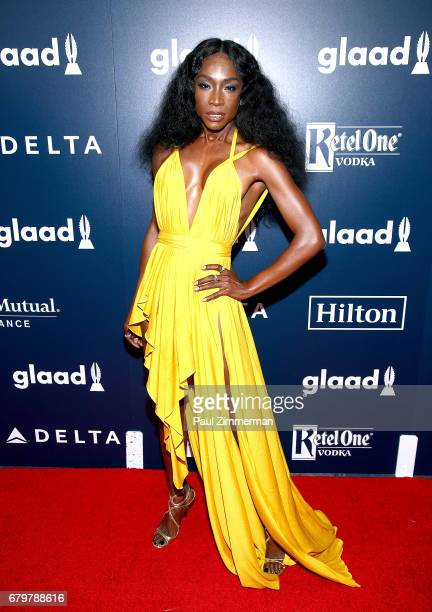 Nominee Angelica Ross attends the 28th Annual GLAAD Awards at New York Hilton Midtown on May 6 2017 in New York City