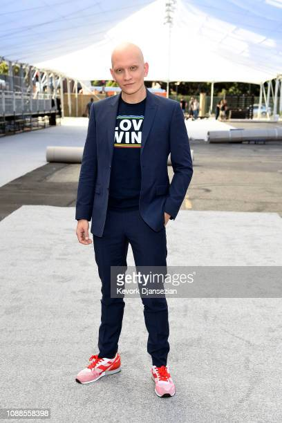 SAG nominee Anthony Carrigan attends the 25th Annual Screen Actors Guild Awards Silver Carpet Rolloutat The Shrine Auditorium on January 25 2019 in...