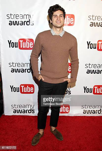 Nominee Anthony Padilla attends the official Streamy Awards nominee reception at YouTube Space LA on October 1 2016 in Los Angeles California