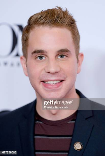 Nominee Ben Platt attends the 2017 Tony Awards Meet The Nominees Press Junket at the Sofitel New york on May 3 2017 in New York City