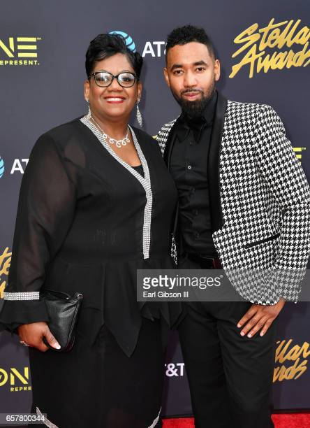 Nominee Bryan Andrew Wilson arrives at the 32nd annual Stellar Gospel Music Awards at the Orleans Arena on March 25, 2017 in Las Vegas, Nevada.