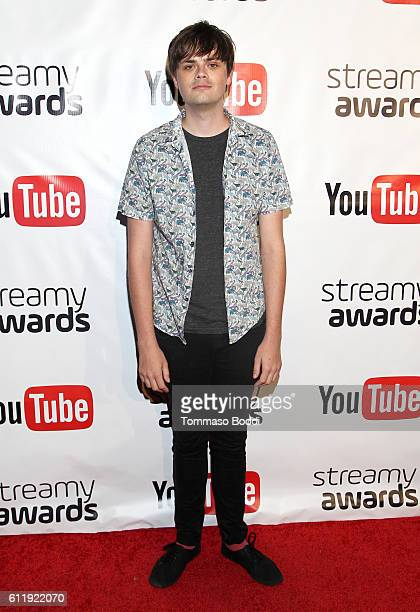 Nominee Chris Kendall attends the official Streamy Awards nominee reception at YouTube Space LA on October 1 2016 in Los Angeles California