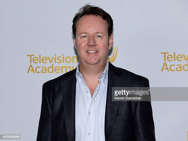 Nominee Dave Boone for '67th Annual Tony Awards' and 'The 71st Annual Golden Globe Awards' arrives for the 66th Emmy Awards Outstanding Achievement...