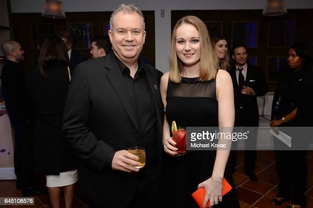 Nominee for achievement in Visual Effects nominee Neil Corbould attends Film is GREAT Reception honoring the British Nominees of the 89th Annual...