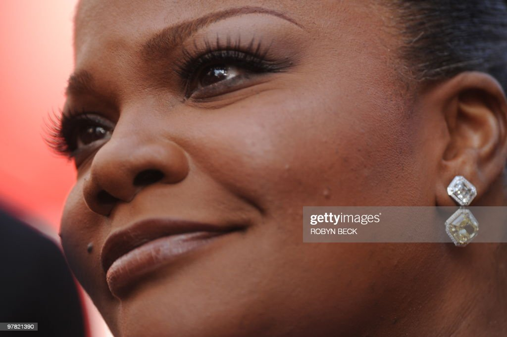 Nominee for Actress in a Supporting Role Mo'Nique arrives at the 82nd Academy Awards at the Kodak Theater in Hollywood, California on March 07, 2010. AFP PHOTO Robyn BECK