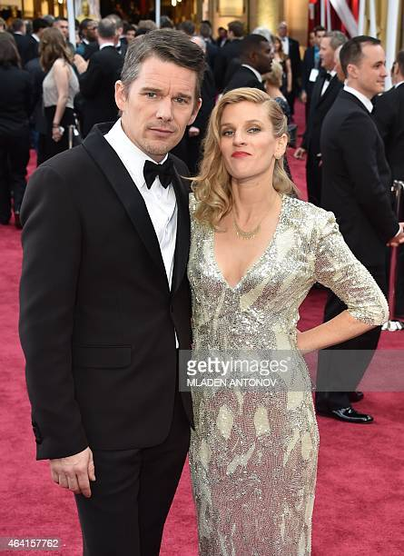 Ethan Hawke [ Wife] Stock Photos and Pictures | Getty Images