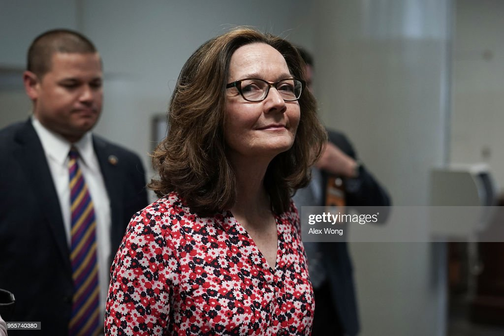 President Trump's Nominee To Be CIA Chief Gina Haspel Meets With Lawmakers On Capitol Hill : News Photo