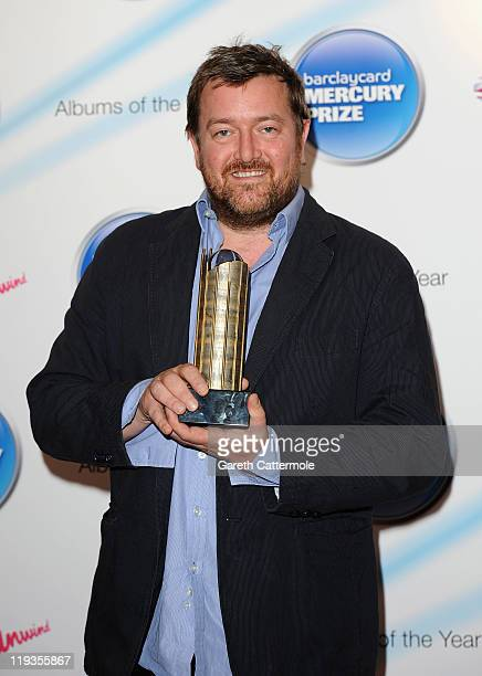 Nominee Guy Garvey of Elbow attends the 2011 Barclaycard Mercury Prize 'Albums of the Year' launch at The Hospital Club on July 19 2011 in London...