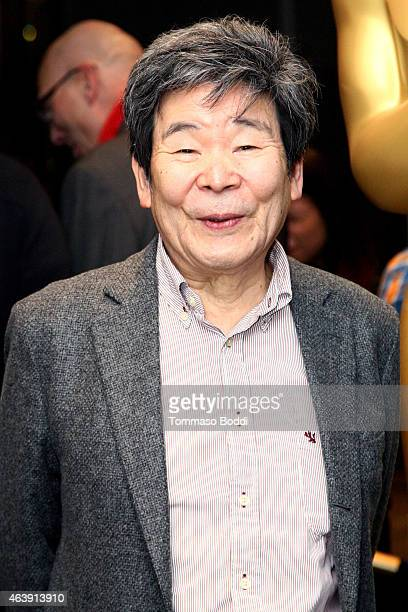 Nominee Isao Takahata attends the 87th Annual Academy Awards Oscar Week Celebrates Animated Features at Samuel Goldwyn Theater on February 19, 2015...