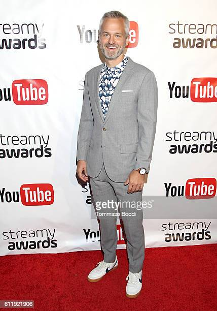 Nominee Jack Ferry attends the official Streamy Awards nominee reception at YouTube Space LA on October 1 2016 in Los Angeles California