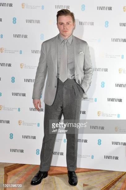 Nominee Jack Lowden attends the Vanity Fair EE Rising Star BAFTAs Pre Party at The Standard on January 22 2020 in London England