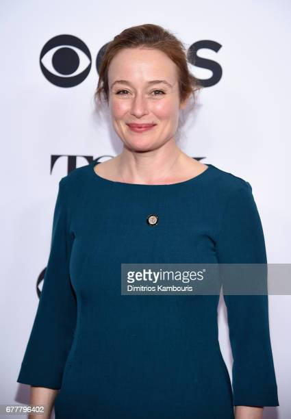 Nominee Jennifer Ehle attends the 2017 Tony Awards Meet The Nominees Press Junket at the Sofitel New york on May 3 2017 in New York City