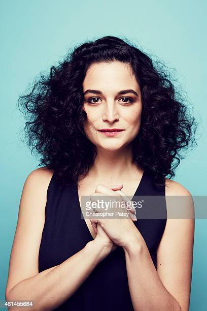 Nominee Jenny Slate poses for a portrait at the 2015 Film Independent Spirit Awards Nominee Brunch at BOA Steakhouse on January 10 2015 in Los...