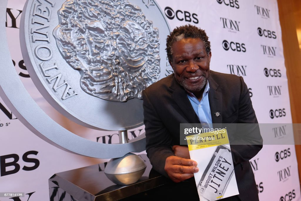 Nominee John Douglas Thompson attends the 2017 Tony Awards Meet The Nominees Press Junket at the Sofitel New York on May 3, 2017 in New York City.