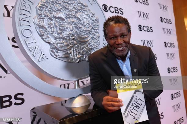 Nominee John Douglas Thompson attends the 2017 Tony Awards Meet The Nominees Press Junket at the Sofitel New York on May 3 2017 in New York City