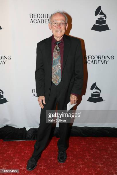 GRAMMY nominee Keith O Johnson poses for a photo on the red carpet at the San Francisco 60th GRAMMY Award Nominee Celebration on January 16 2018 in...