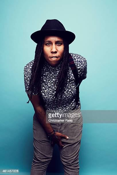 Nominee Lena Waithe poses for a portrait at the 2015 Film Independent Spirit Awards Nominee Brunch at BOA Steakhouse on January 10 2015 in Los...