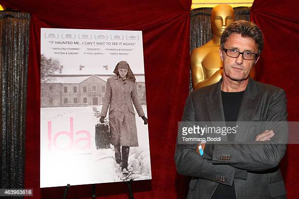 Nominee Pawel Pawlikowski attends the 87th Annual Academy Awards Oscar Week Foreign Language Film Photo Op on February 20, 2015 in Hollywood,...