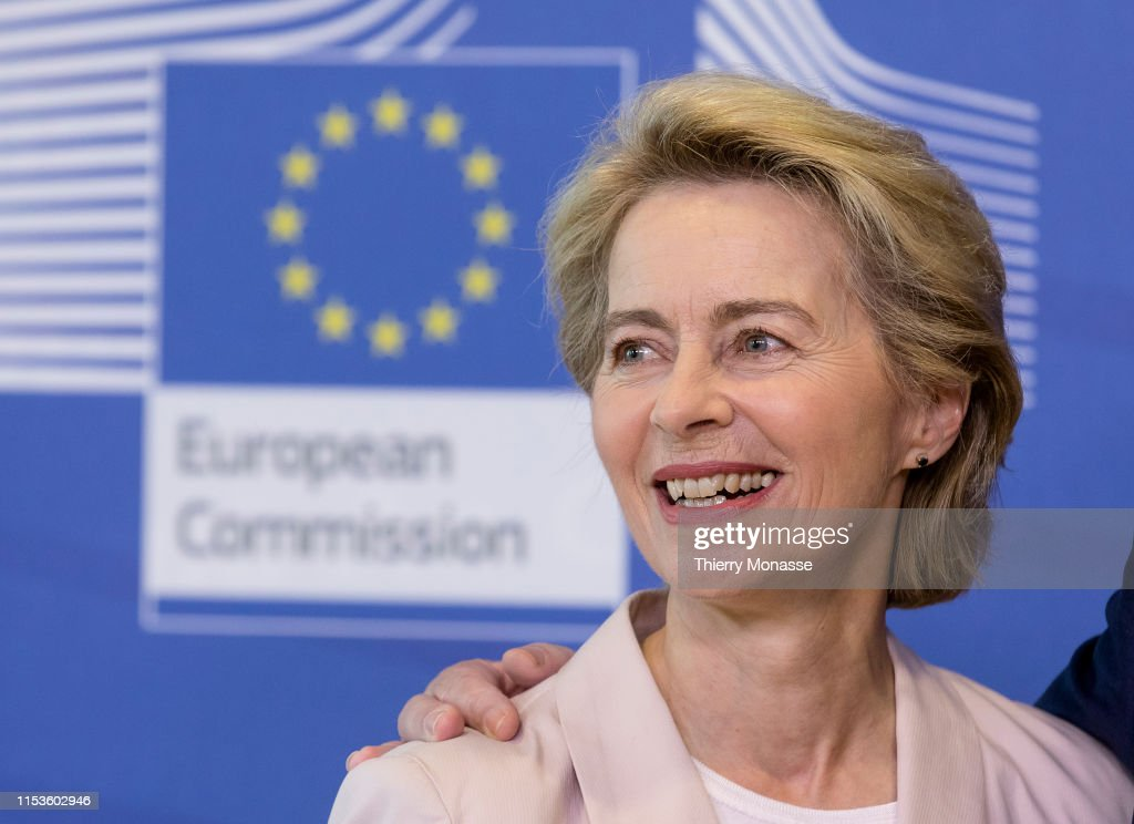Ursula Von Der Leyen Seeks Commission's Approval For EU Leadership : Nachrichtenfoto