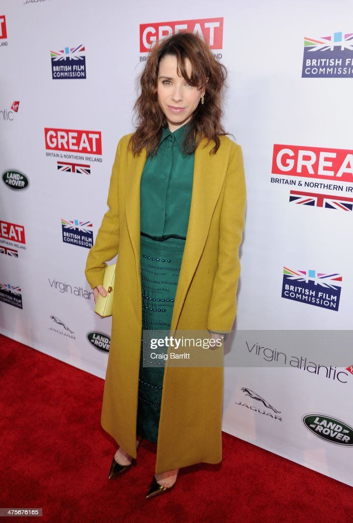 Nominee Sally Hawkins attends the 2014 GREAT British Oscar Reception at British Consul General's Residence on February 28, 2014 in Los Angeles, California.