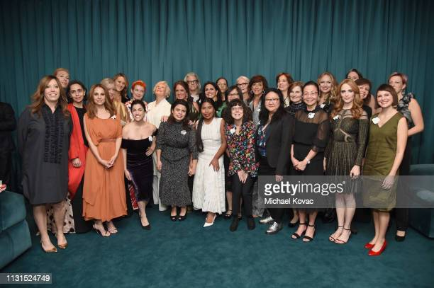 Nominees attend the 12th Annual Women in Film Oscar Nominees Party Presented by Max Mara with additional support from Chloe Wine Collection Stella...