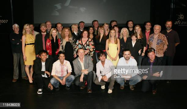 AFI nominees attend the L'Oreal Paris 2007 AFI Awards Nominations Announcement at the Sydney Theatre on October 24 2007 in Sydney Australia All...