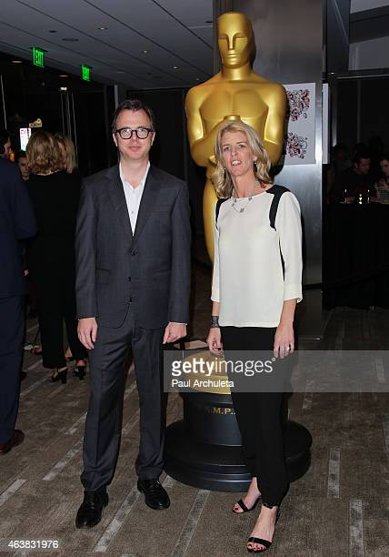 Nominees Keven McAlester and Rory Kennedy attend the 87th Annual Academy Awards Oscar week celebration of Docs at The Samuel Goldwyn Theater on...
