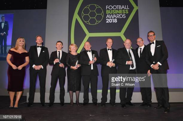 Nominees of the 'CEO Of The Year' award including David Baldwin of Burnley Andy Holt of Accrington Stanley Alistair Mackintosh of Fulham Ann Budge of...