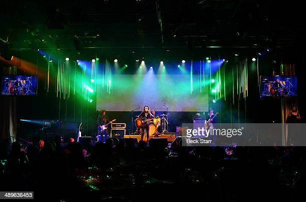 Non Blondes perform at The LA Gay Lesbian Center's Annual An Evening With Women at The Beverly Hilton Hotel on May 10 2014 in Beverly Hills California