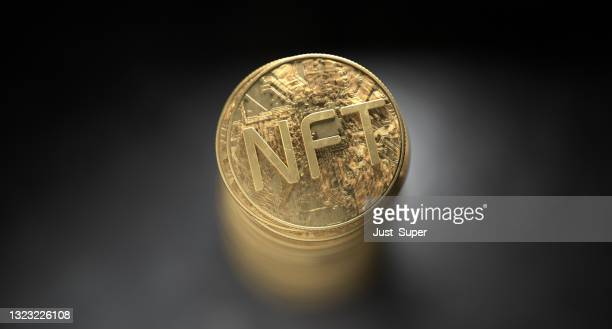 nft non fungible token crypto currency - bid stock pictures, royalty-free photos & images