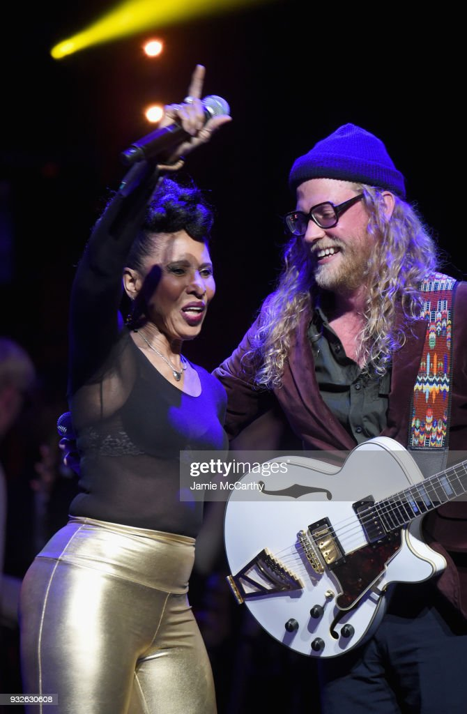 Nona Hendryx and Allen Stone perform onstage at the Second Annual LOVE ROCKS NYC! A Benefit Concert for God's Love We Deliver at Beacon Theatre on March 15, 2018 in New York City.