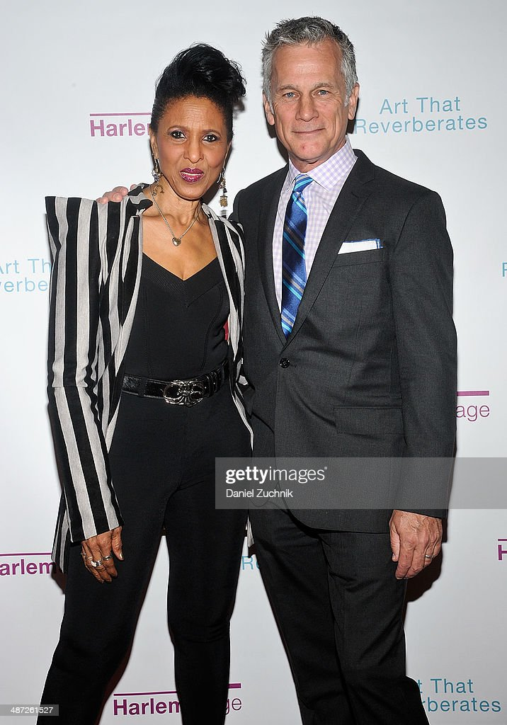 Nona Hendryx and Brad Learmonth attend the Harlem Stage 2014 Spring Gala at Harlem Stage Gatehouse on April 28, 2014 in New York City.
