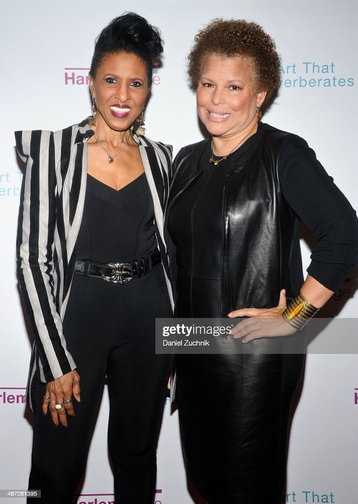 Nona Hendryx and Debra Lee attend the Harlem Stage 2014 Spring Gala at Harlem Stage Gatehouse on April 28, 2014 in New York City.