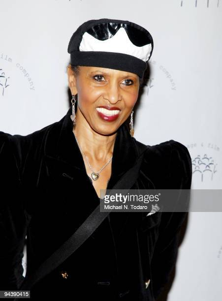 Nona Hendryx attends the New York Stage and Film's annual gala at The Plaza Hotel on December 13 2009 in New York City
