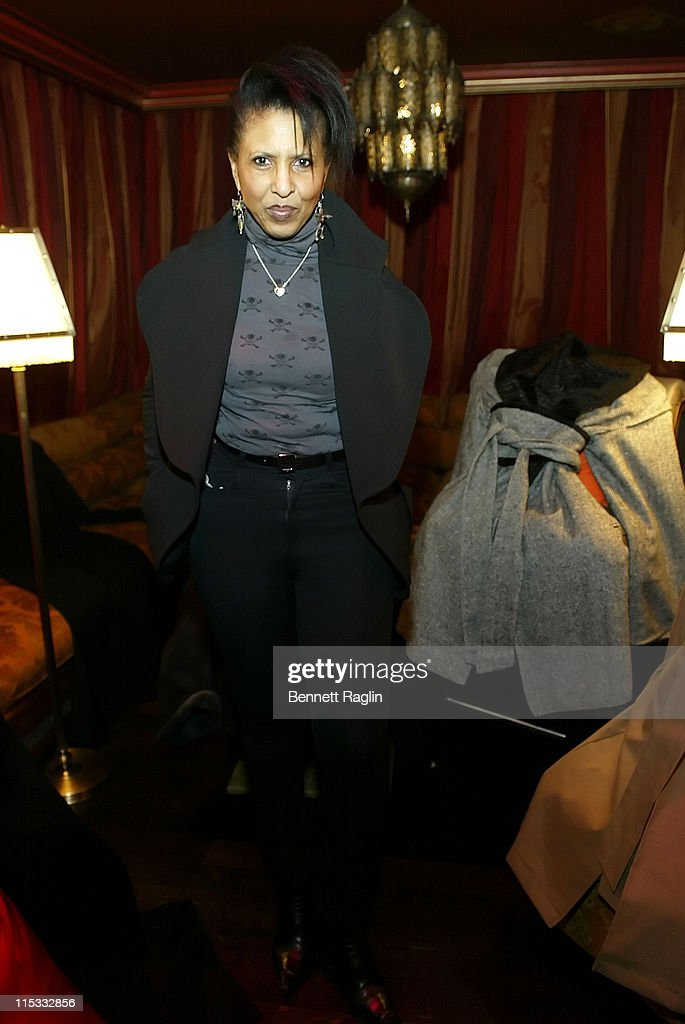 Nona Hendryx during Launch of Arctic Rose Outerwear Created by Celebrity Stylist and Designer Dalila Anderson at AZZA in New York City, New York, United States.