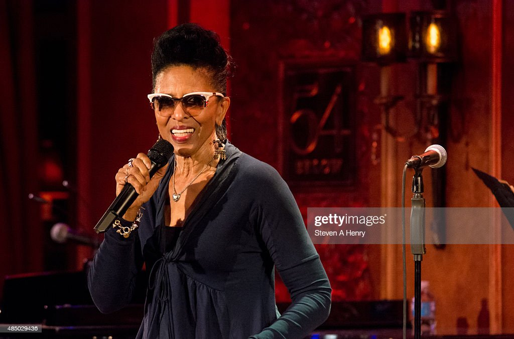 Nona Hendryx onstage during the Sarah Dash Birthday Celebration at 54 Below on August 23, 2015 in New York City.
