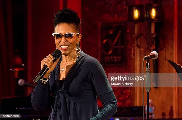 Nona Hendryx onstage during the Sarah Dash Birthday Celebration at 54 Below on August 23 2015 in New York City