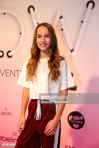 Nona Kanal attends the GLOW The Beauty Convention at Station on November 4 2017 in Berlin Germany