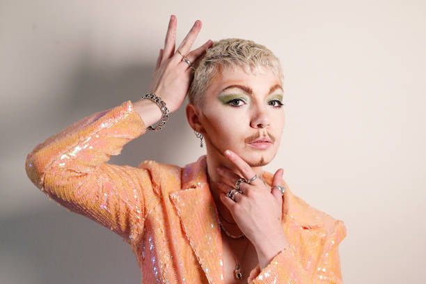 AUS: Non-Binary Drag Performer Gabriel Angel Prepares Ahead Of 2021 Sydney Mardi Gras Parade