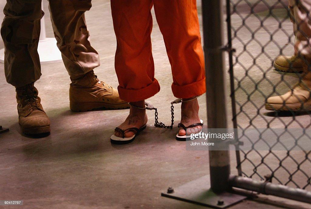 Guantanamo Military Prison Stays Open As Future Status Remains Uncertain : News Photo