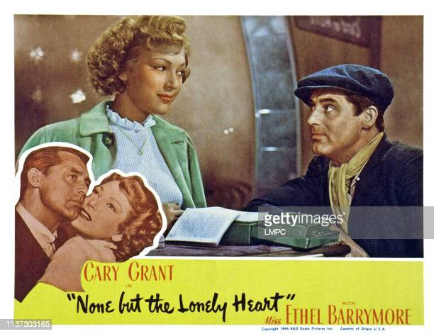 None But The Lonely Heart US lobbycard from left June Duprez Cary Grant 1944