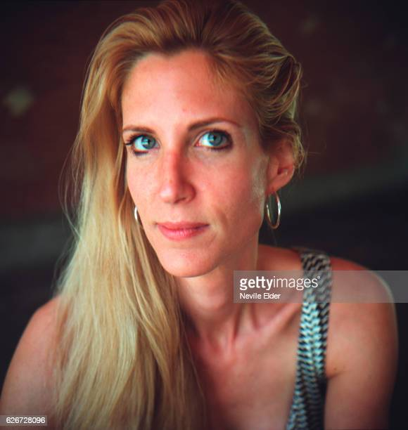 Nonfiction author Ann Coulter in New York City Coulter was recently on the New York Times Bestsellers list for her book 'Slander' Photo by Neville...
