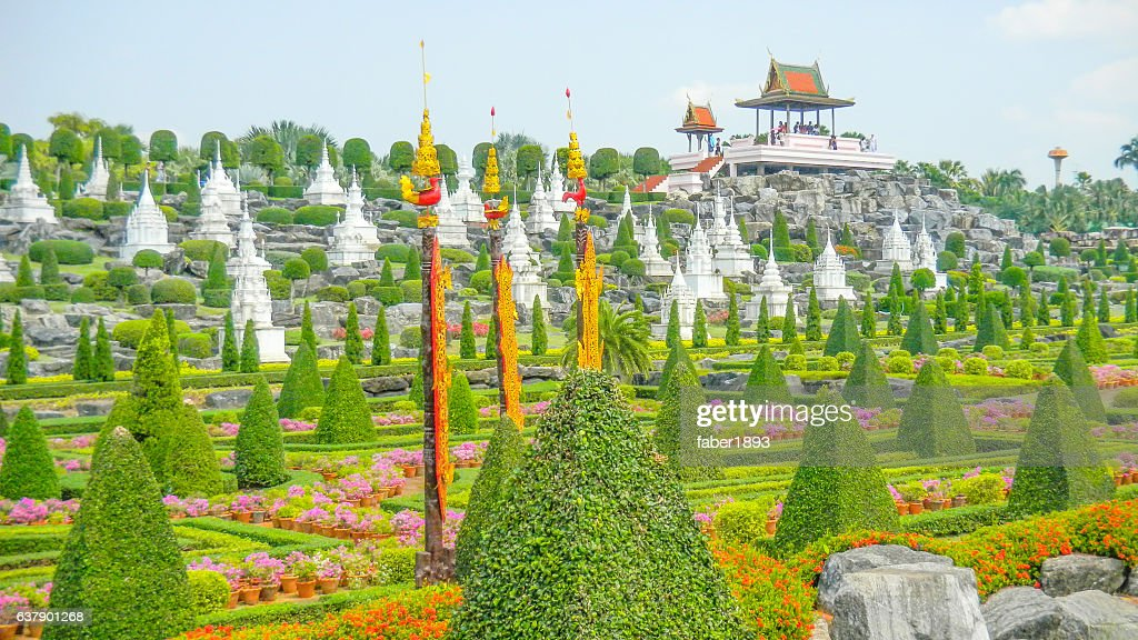 Nong Nooch Garden, Pattaya, Thailand, Asia : Stock Photo