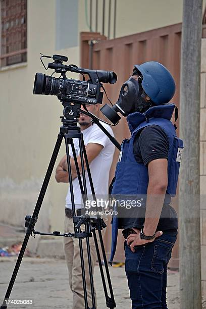 CONTENT] Nongovernmental organizations that deal with the press freedom in the West Bank reveal that Israel has arrested the last two years about...