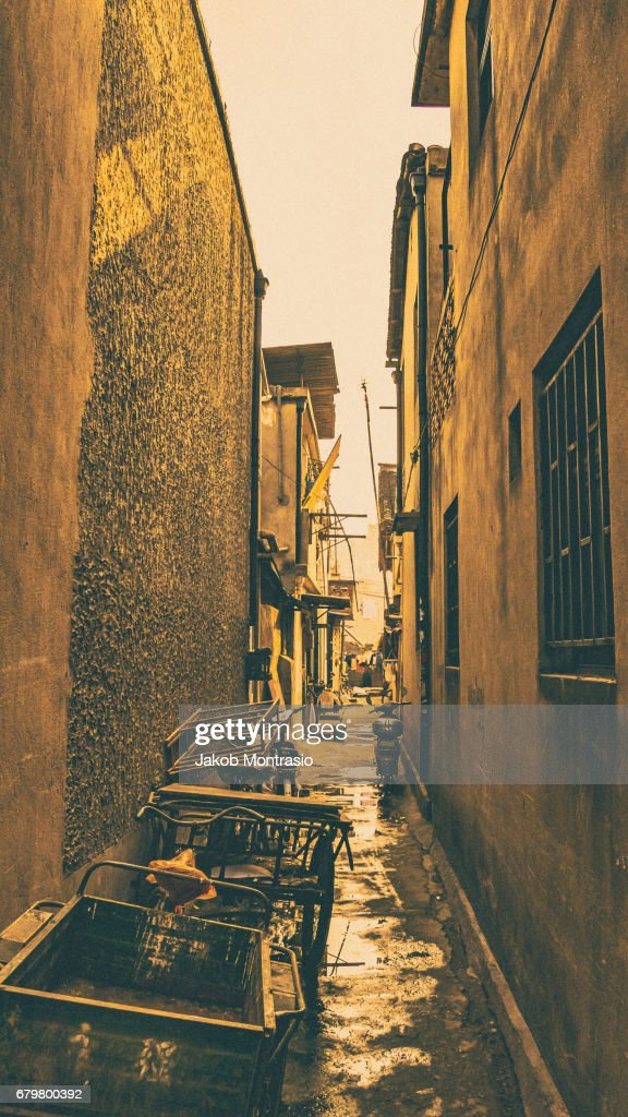 Nongtang Alley : Stock Photo