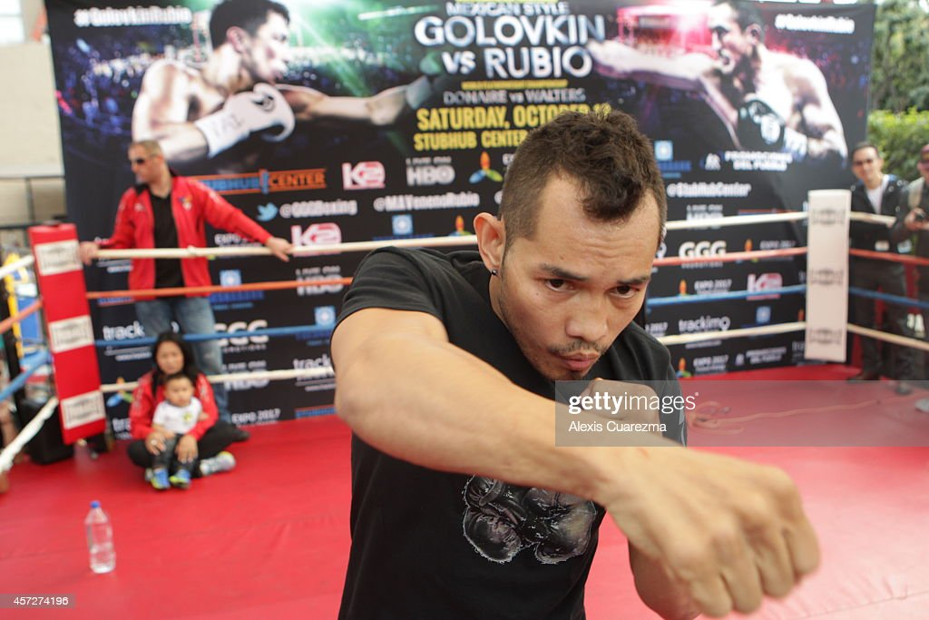 Gennady Golovkin Fight Week Media Workouts : News Photo
