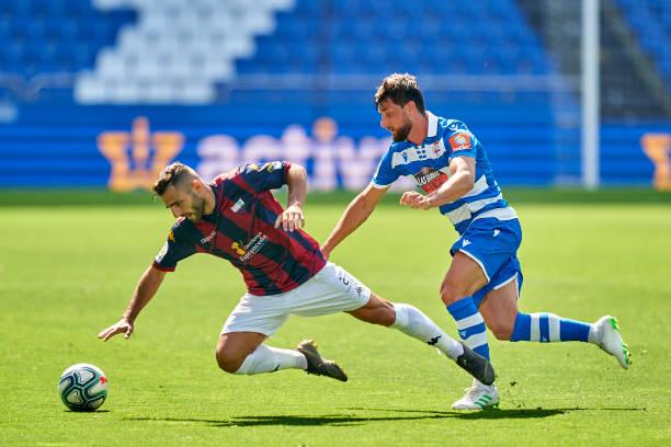 ESP: RC Deportivo v Extremadura - La Liga SmartBank